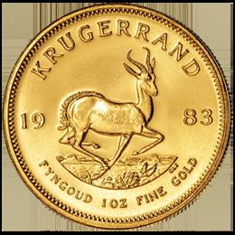 Gold coin - KRUGERRAND