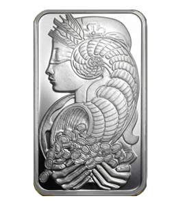 Silver Bars - Suisse 1 Ounce front