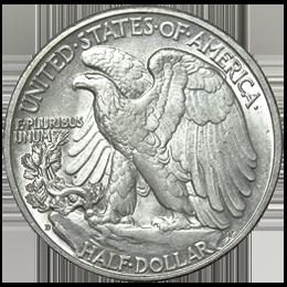 Silver coin - American Eagle - Half Dollar