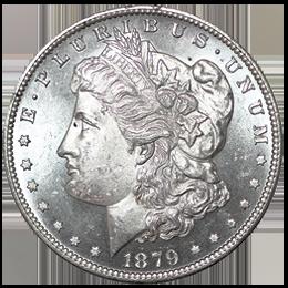 Silver coin - Morgan Dollar
