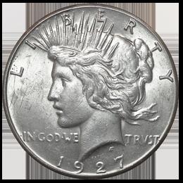 Silver coin - Peace Dollar