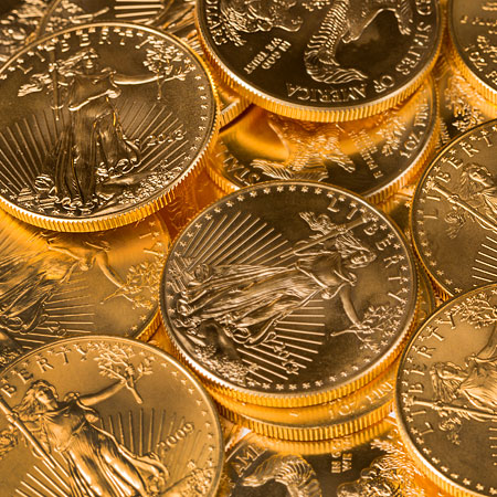 Gold coins, US Mint