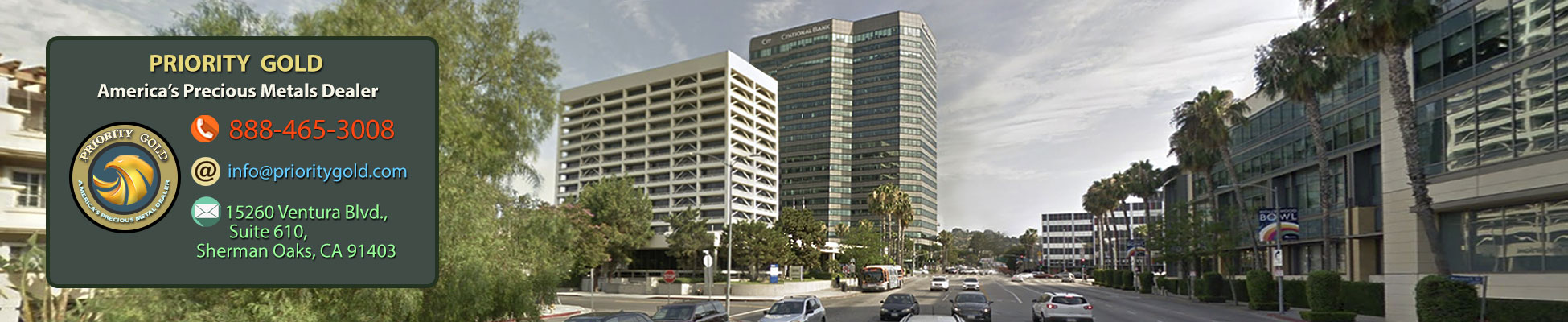 Priority Gold Head office in Los Angeles, California
