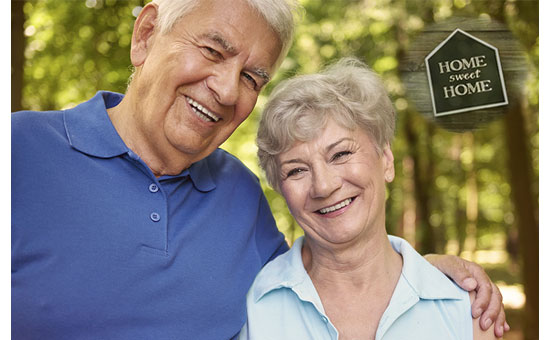 Seniors live happy with retirement secured