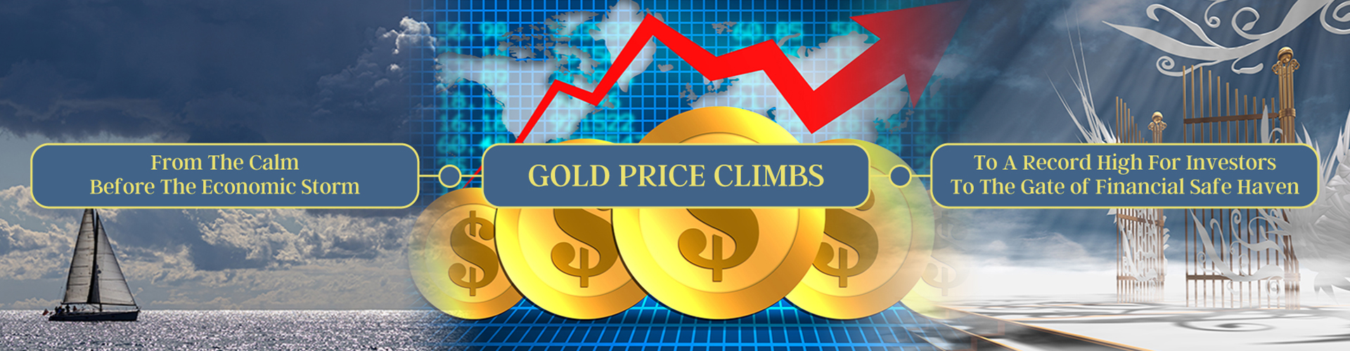 Gold Price Climbs Record high